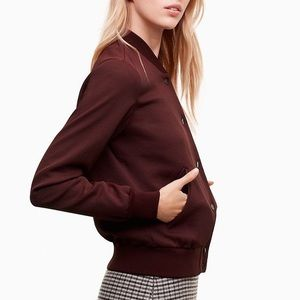 NWOT Aritzia Wilfred Poussin Bomber